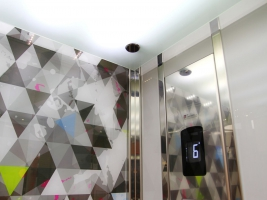 LC ColorGlass - glass lift design
